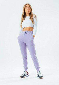Hype - SIGNATURE - Jogginghose - violet