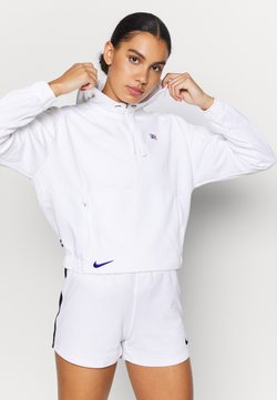 Nike Performance - PARIS ST GERMAIN DRY HOODIE  - Vereinsmannschaften - white/old royal