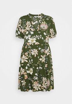 ONLY Petite - ONLNOVA LIFE THEA DRESS PETITE - Sukienka letnia - ponderosa pine/blossom green