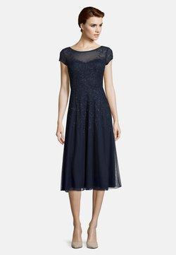 Vera Mont - MIT STICKEREI - Cocktailkleid/festliches Kleid - dunkelblau