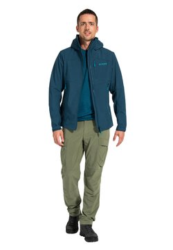Vaude - Softshelljacke - mottled teal