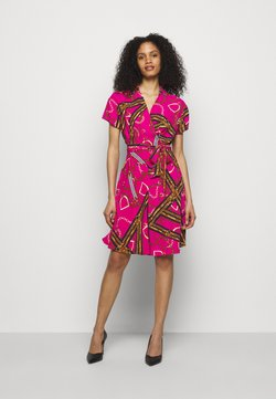 Lauren Ralph Lauren - PRINTED DRESS - Day dress - aruba pink