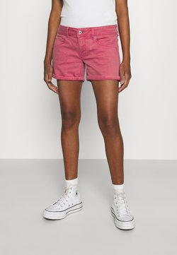 Pepe Jeans - SIOUXIE - Jeans Shorts - dark chicle
