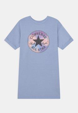Converse - SHORT SLEEVE CHUCK PATCH  - Freizeitkleid - blue heron