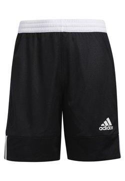 adidas Performance - 3G SPEED REVERSIBLE SHORTS - Krótkie spodenki sportowe - black/white