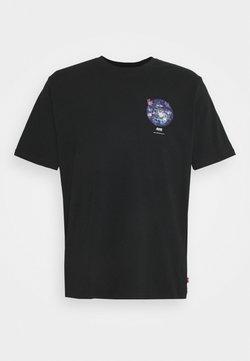 Levi's® - TEE UNISEX - T-shirt con stampa - caviar