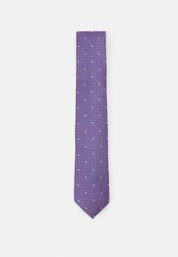 Michael Kors - MICRO TEXTURE WITH DOT - Krawatte - lilac