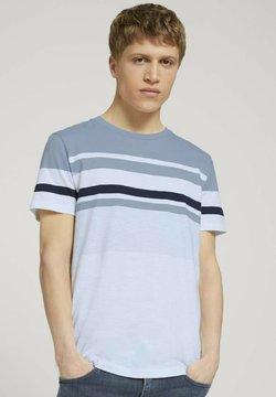 TOM TAILOR DENIM - T-Shirt print - foggy blue