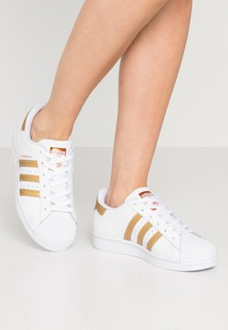 adidas Originals - SUPERSTAR - Sneakers - footwear wihte/copper metallic/core black