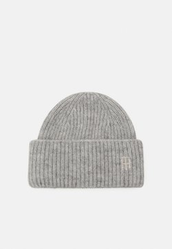 Tommy Hilfiger - EFFORTLESS BEANIE - Pipo - grey