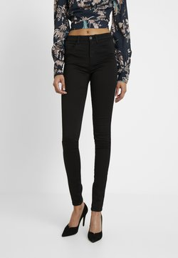 ONLY Tall - ONLROYAL HIGH - Jeans Skinny Fit - black denim