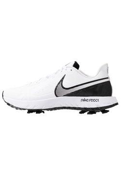 Nike Golf - REACT INFINITY PRO - Golfschoenen - white/black