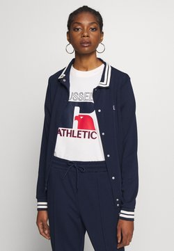Russell Athletic Eagle R - WEST - Giubbotto Bomber - navy