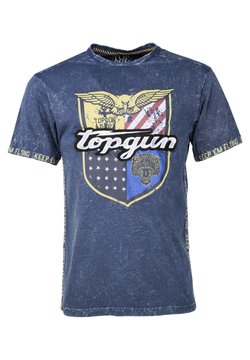 TOP GUN - T-shirt print - navy