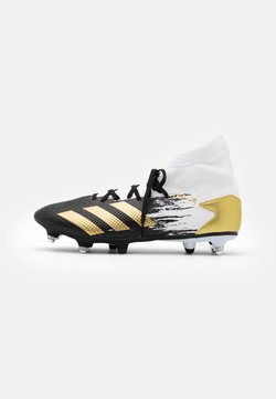 adidas Performance - PREDATOR 20.3 FOOTBALL BOOTS SOFT GROUND - Fußballschuh Stollen - footwear white/gold metallic/core black