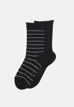 FALKE - HAPPY 2 PACK - Socken - black