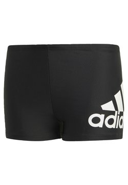 adidas Performance - BADGE OF SPORT PRIMEGREEN BOXER SWIM TRUNKS - Shorty - black