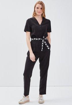 BONOBO Jeans - MIT GÜRTEL - Combinaison - noir