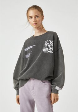 PULL&BEAR - Sweatshirt - light grey