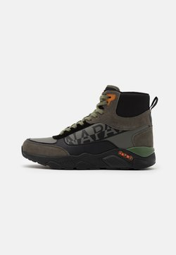 Napapijri - Sneaker high - green/black