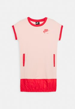 Nike Sportswear - AIR DRESS - Jerseykleid - washed coral/track red