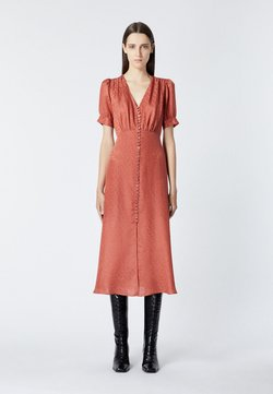The Kooples - Vestido camisero - pink