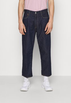 Levi's® - STAY LOOSE PLEATED CROP - Relaxed fit -farkut - dark indigo