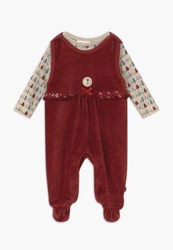 Jacky Baby - IN MY BACKYARD CHRISTMAS SET - Kruippakje - dunkelrot