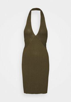 Guess - ADDY CROSSED DRESS - Vestido de punto - travertin