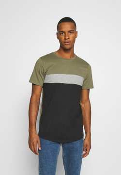 Jack & Jones - JORCALLIEE TEE CREW NECK - T-shirt print - black
