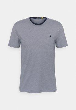 Polo Ralph Lauren - SHORT SLEEVE - T-Shirt print - french navy/white