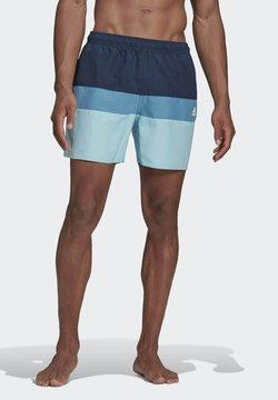 adidas Performance - SHORT-LENGTH COLORBLOCK SWIM SHORTS - Short de bain - blue