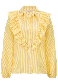 Sienna - Hemdbluse - gelb