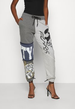 Jaded London - VARSITY PATCHWORK JOGGERS - Jogginghose - multi