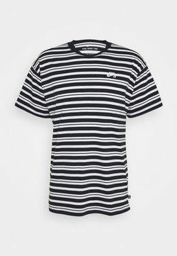 Nike SB - TEE STRIPE - T-shirt con stampa - black