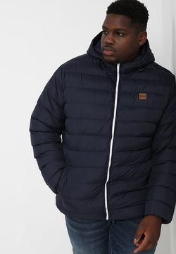 Urban Classics - BASIC BUBBLE JACKET - Winterjacke - navy/white/navy