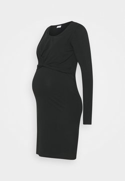 MAMALICIOUS - MLHELIA JUNE DRESS - Sukienka z dżerseju - black