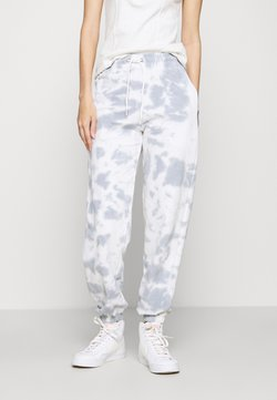 New Look - TIE DYE  - Jogginghose - dark grey