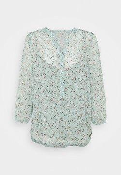 Esprit - CRINKLE - Langarmshirt - turquoise
