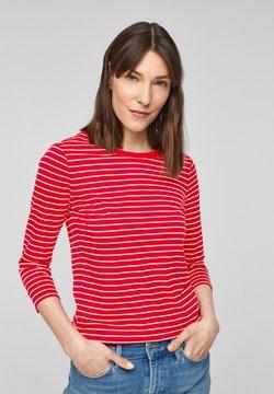 s.Oliver - MIT RINGELMUSTER - Langarmshirt - red stripes