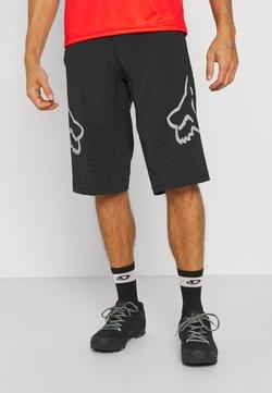 Fox Racing - DEFEND SHORT - kurze Sporthose - black
