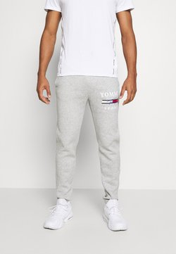 Tommy Hilfiger - GRAPHIC PANT CUFFED - Verryttelyhousut - grey