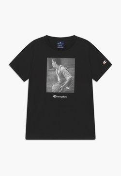 Champion - CHAMPION X ZALANDO GRAPHIC - T-shirt med print - black