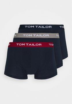 TOM TAILOR - PANTS 3 PACK - Shorty - dark blue