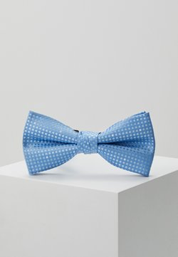 Jack & Jones - JACSANTANDER BOW TIE - Fliege - cashmere blue/white