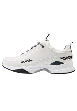 HUGO - BLOCK RUNN - Sneakers laag - open white