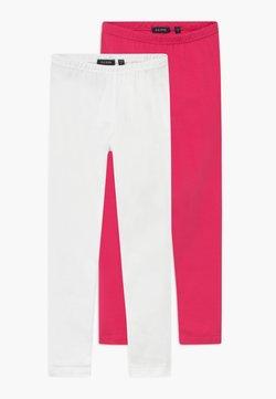 Blue Seven - 2 PACK - Legging - pink/white