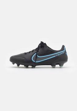 Nike Performance - TIEMPO LEGEND 9 PRO FG - Korki Lanki - black/iron grey