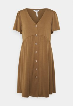 Object Petite - OBJWILMA DRESS PETITE - Vestido ligero - sepia