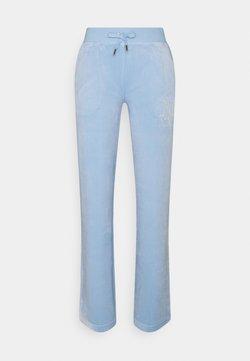 Juicy Couture - NUMERAL DEL RAY PANTS - Jogginghose - powder blue